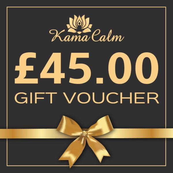 £45 massage gift voucher